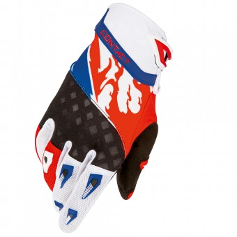 Gants Cross Freegun Contact US Blue Red