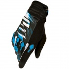 Gants Cross SHOT Devo Capture Black Blue Enfant