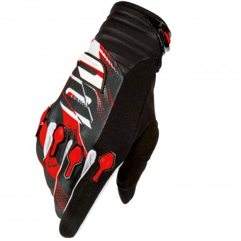 Gants Cross SHOT Devo Capture Black Red Enfant