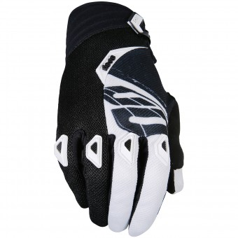 Gants Cross SHOT Devo Fast Black White Enfant