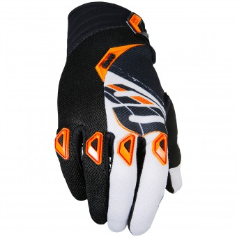 Gants Cross SHOT Devo Fast Orange Black Enfant