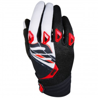 Gants Cross SHOT Devo Fast Red Black Enfant