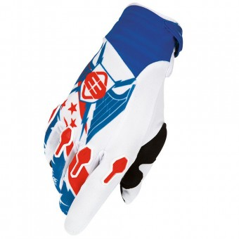 Gants Cross Freegun Devo Liberty Blue Red