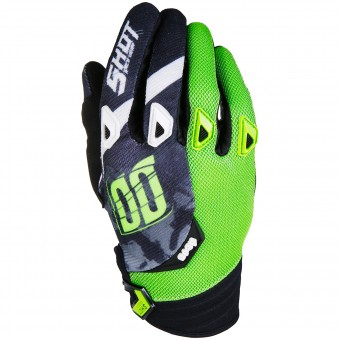 Gants Cross SHOT Devo Squad Green Black