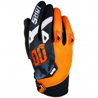 Gants Cross SHOT Devo Squad Orange Black