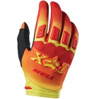 Gants Cross FOX Dirtpaw Imperial Red Yellow