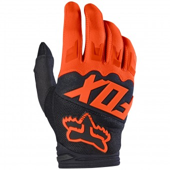 Gants Cross FOX Dirtpaw Orange Enfant 009