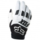 Gants Cross FOX Dirtpaw Race Blanc