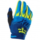 Gants Cross FOX Dirtpaw Race Blue Yellow (026)