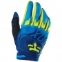 Gants Cross FOX Dirtpaw Race Blue Yellow Enfant (026)