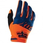 Gants Cross FOX Dirtpaw Race Orange Blue (592)