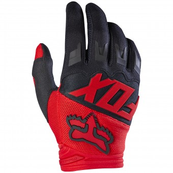 Gants Cross FOX Dirtpaw Race Red 003