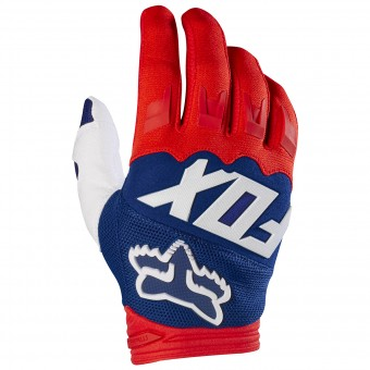 Gants Cross FOX Dirtpaw Race Red White 054