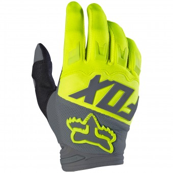 Gants Cross FOX Dirtpaw Race Yellow 005