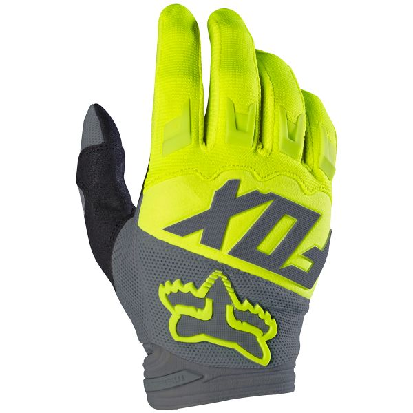 Gants Cross FOX Dirtpaw Yellow Enfant 005