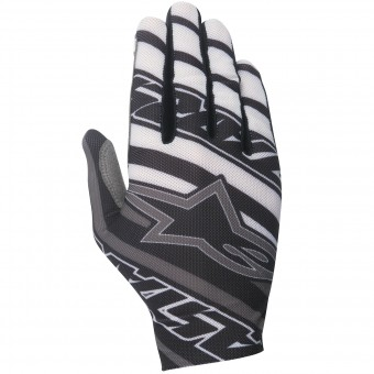 Gants Cross Alpinestars Dune Black White