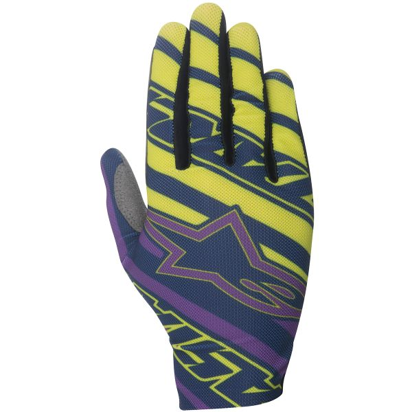 Gants Cross Alpinestars Dune Navy Purple