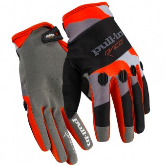 Gants Cross pull-in Fighter Camo Orange Black
