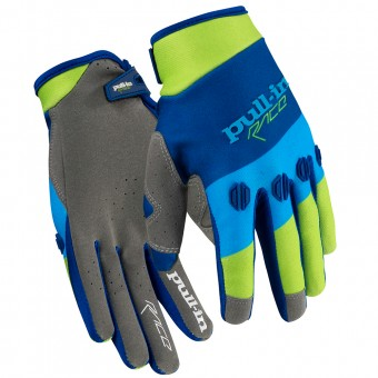 Gants Cross pull-in Fighter Green Blue