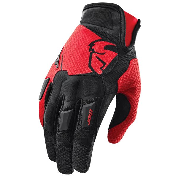 Gants Cross Thor Flow Rouge