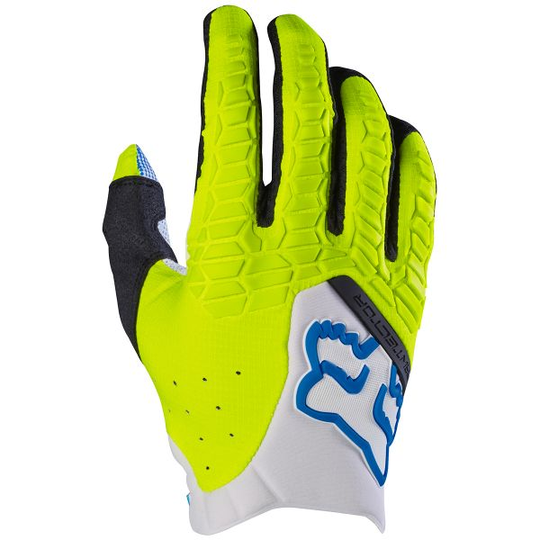 Gants Cross FOX Pawtector White Yellow (214)