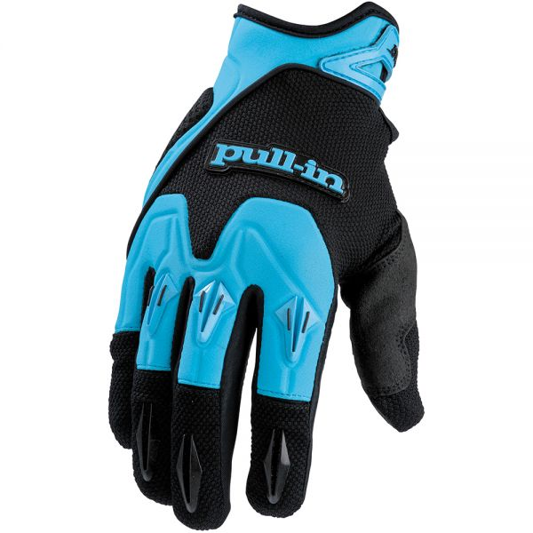 Gants Cross pull-in Pro Blue