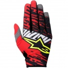 Gants Cross Alpinestars Racer Braap Red Black Enfant