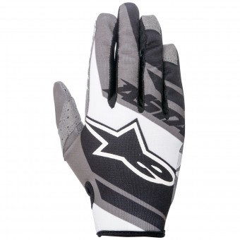 Gants Cross Alpinestars Racer Supermatic Black Grey