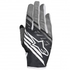 Gants Cross Alpinestars Racer Supermatic Black White Grey