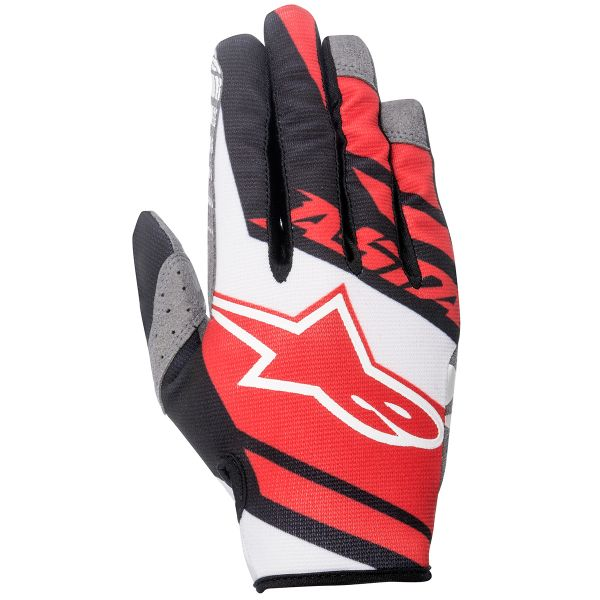 Gants Cross Alpinestars Racer Supermatic Red Black
