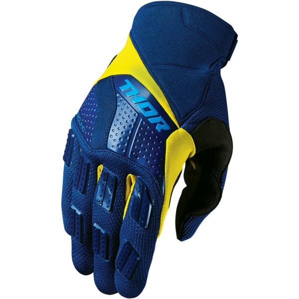 Gants Cross Thor Rebound Navy Yellow