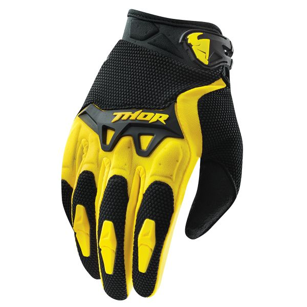 Gants Cross Thor Spectrum Jaune Enfant