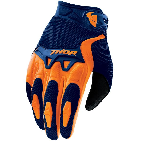 Gants Cross Thor Spectrum Navy Orange Enfant