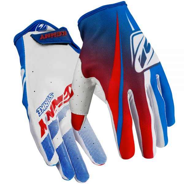 Gants Cross Kenny Strike Blue Red Enfant