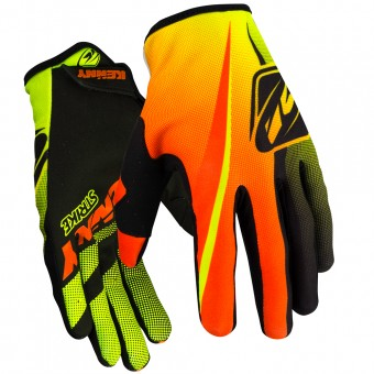 Gants Cross Kenny Strike Yellow Orange Enfant