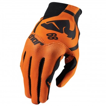 Gants Cross Thor Void Plus Gasket Orange