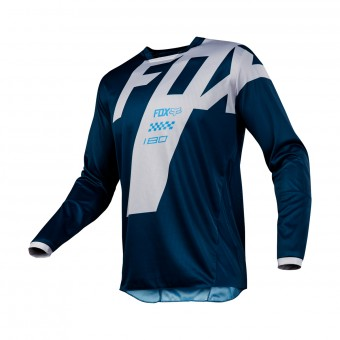 Maillot Cross FOX 180 Mastar Navy 007
