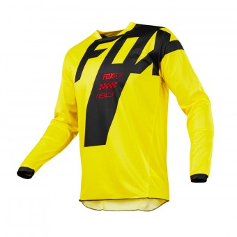 Maillot Cross FOX 180 Mastar Yellow 005