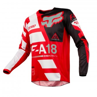 Maillot Cross FOX 180 Sayak Red 003