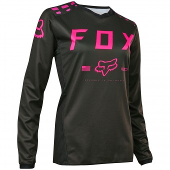 Maillot Cross FOX 180 Black Pink Woman 285