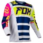 Maillot Cross FOX 180 Falcon Navy White 045