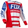 Maillot Cross FOX 180 Honda Red White 054