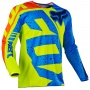 Maillot Cross FOX 180 Nirv Yellow Blue Enfant 586