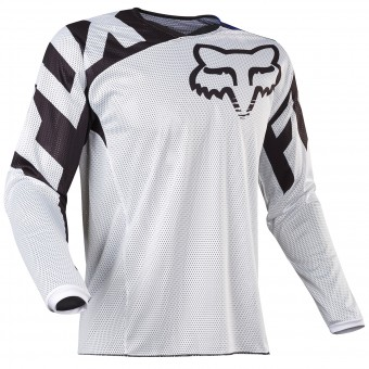 Maillot Cross FOX 180 Race Airline White 008