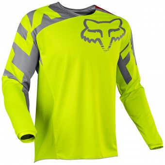 Maillot Cross FOX 180 Race Yellow 005