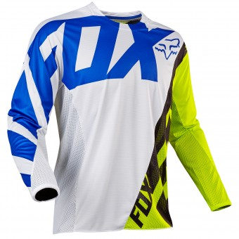 Maillot Cross FOX 360 Creo White Yellow 214