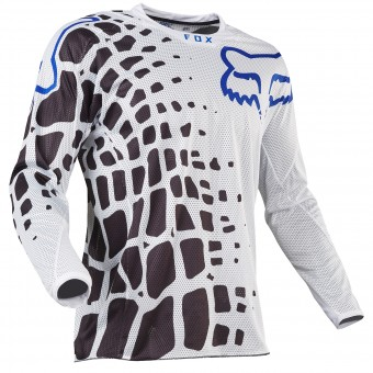 Maillot Cross FOX 360 Grav Airline White 008