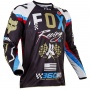 Maillot Cross FOX 360 Rohr Black 001