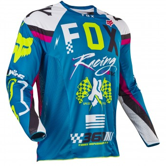 Maillot Cross FOX 360 Rohr Teal 176
