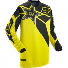 Maillot Cross FOX HC Rockstar Jersey Black Yellow